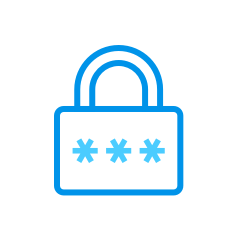 Protection of the form with a password
