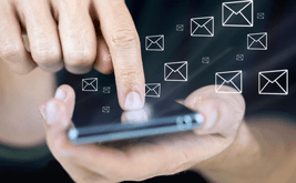 Scheduled SMS notifications