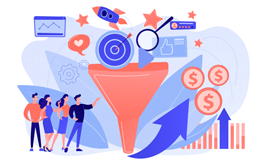 Email newsletters in the sales funnel